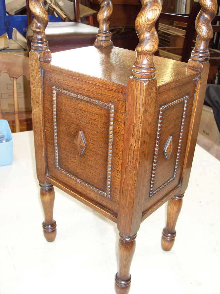 Side table restoration by Paul Malvern Restoration, Cheltenham